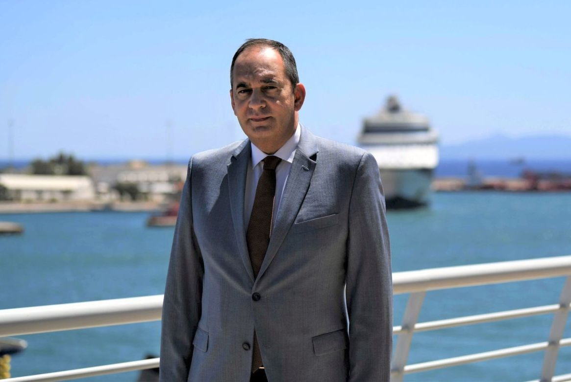 Greek Shipping Minister Yiannis Plakiotakis. Photo source: ynanp.gr