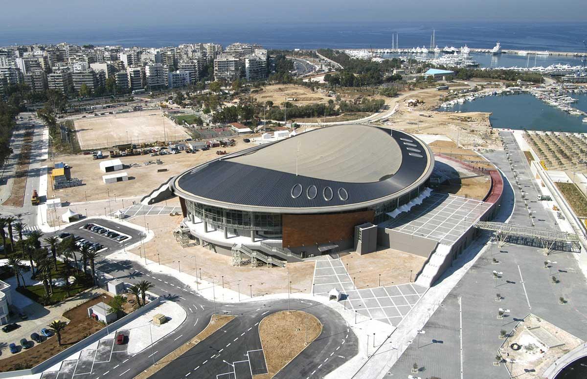 Tae Kwon Do Olympic facility, Palaio Faliro. Photo source: ETAD