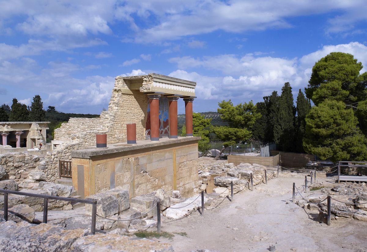 Ancient Palace of Knossos, Heraklion, Crete. Photo source: Municipality of Heraklion