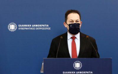 Greek Government Spokesperson Stelios Petsas.