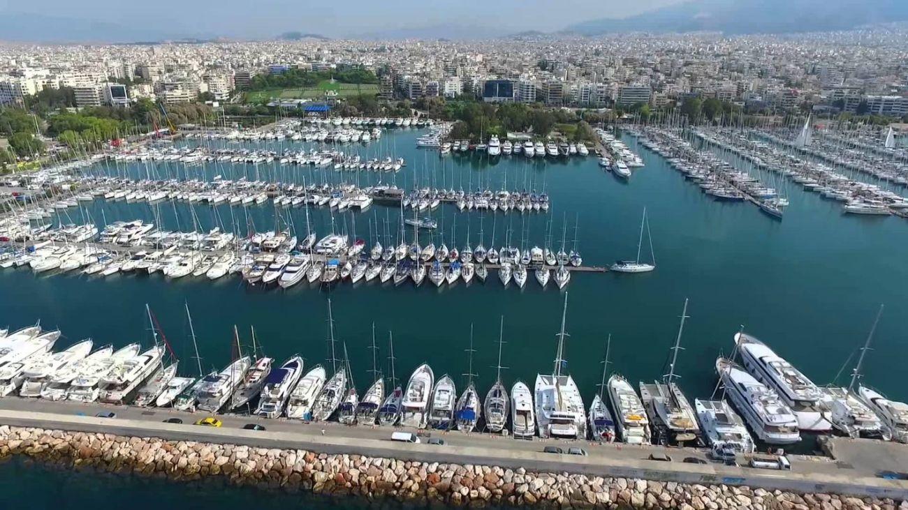 Alimos Marina. Photo source: @cstaikouras.gr