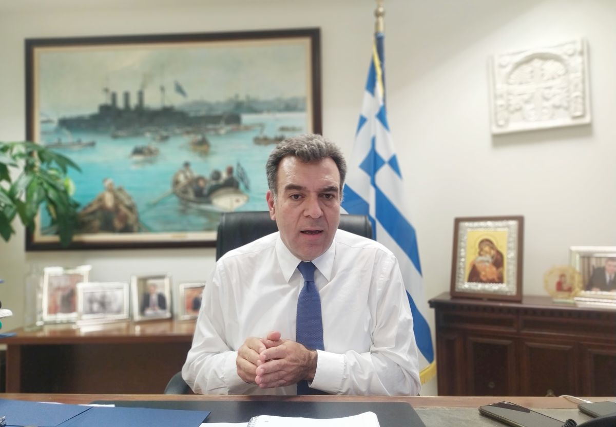 Greek Deputy Tourism Minister Manos Konsolas.