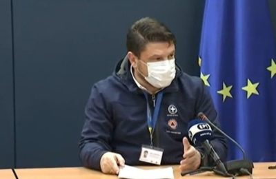 Greek Civil Protection Deputy Minister Nikos Hardalias.