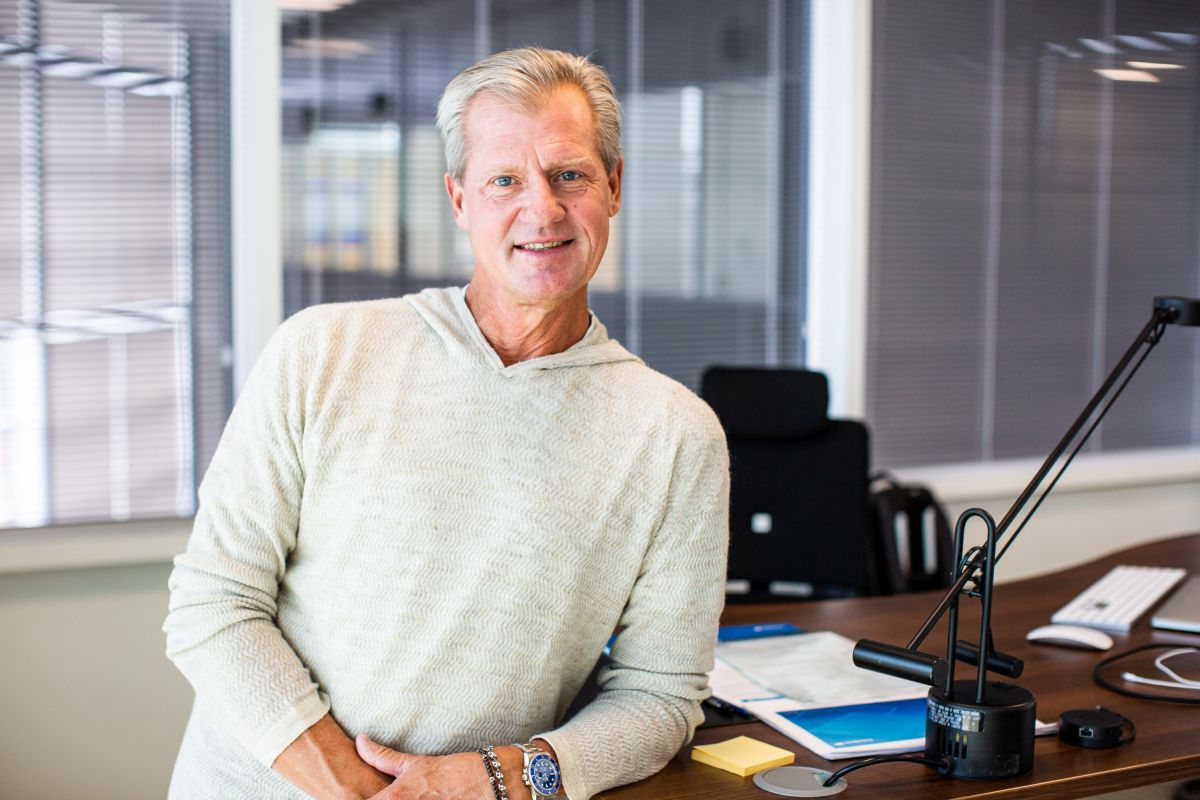 Travelport CEO Greg Webb.