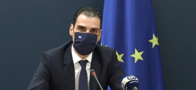 Greek General Secretary of Primary Health Care Mario Themistokleous.