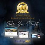 GTP Headlines DayTrip4U Ονομασμένος ιστότοπος κορυφαίων περιοχών και δραστηριοτήτων στον κόσμο στο WTA 2020