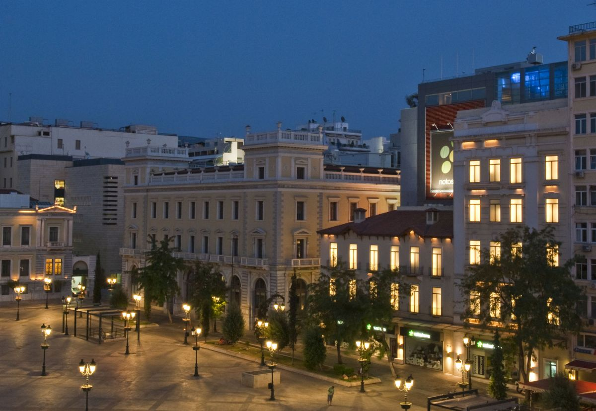Kotzia Square in central Athens. Photo: Y. Skoulas