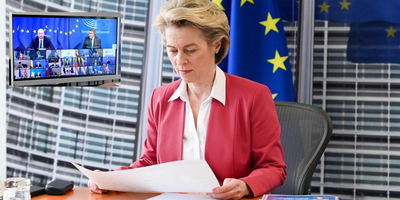 European Commission President Ursula von der Leyen. Photo source: @vonderleyen