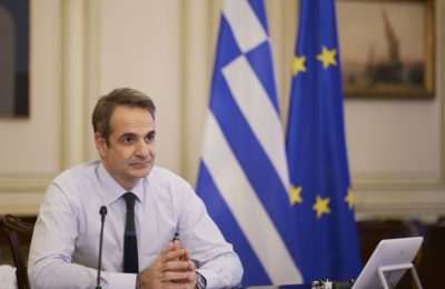 Greek Prime Minister Kyriakos Mitsotakis. Photo source: primeminister.gr