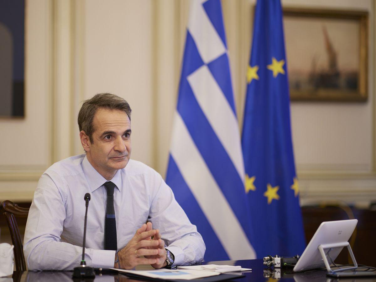 Greek Prime Minister Kyriakos Mitsotakis. Photo source: primeminister.gr