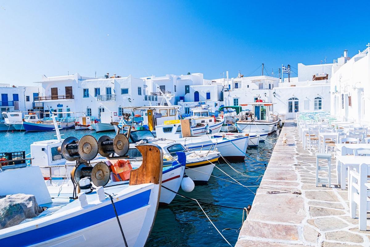 Naoussa, Paros island. Photo source: @Aegean Islands