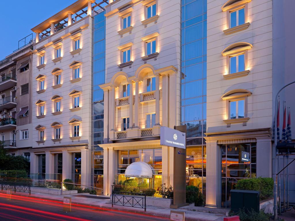 Stratos Vassilikos Hotel in Athens.