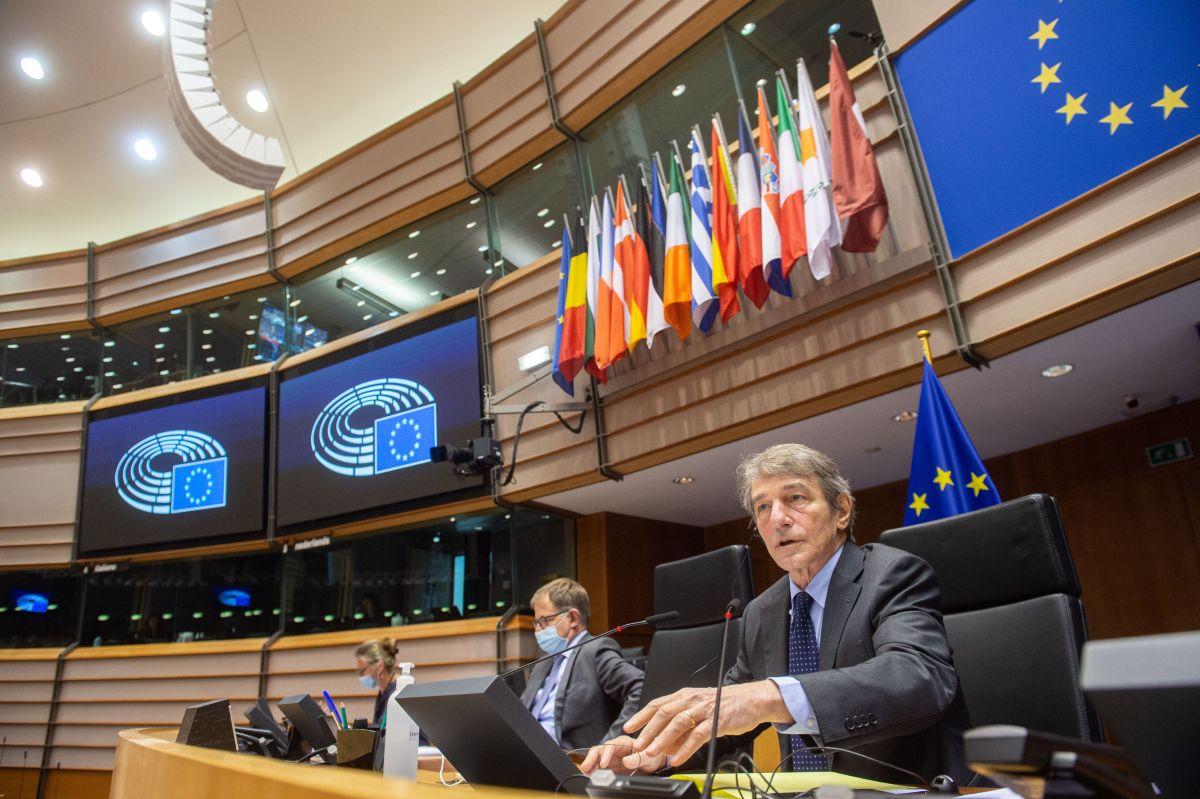 European Parliament plenary session, announcement of results on Brexit. Photo Source: EP / © European Union 2021