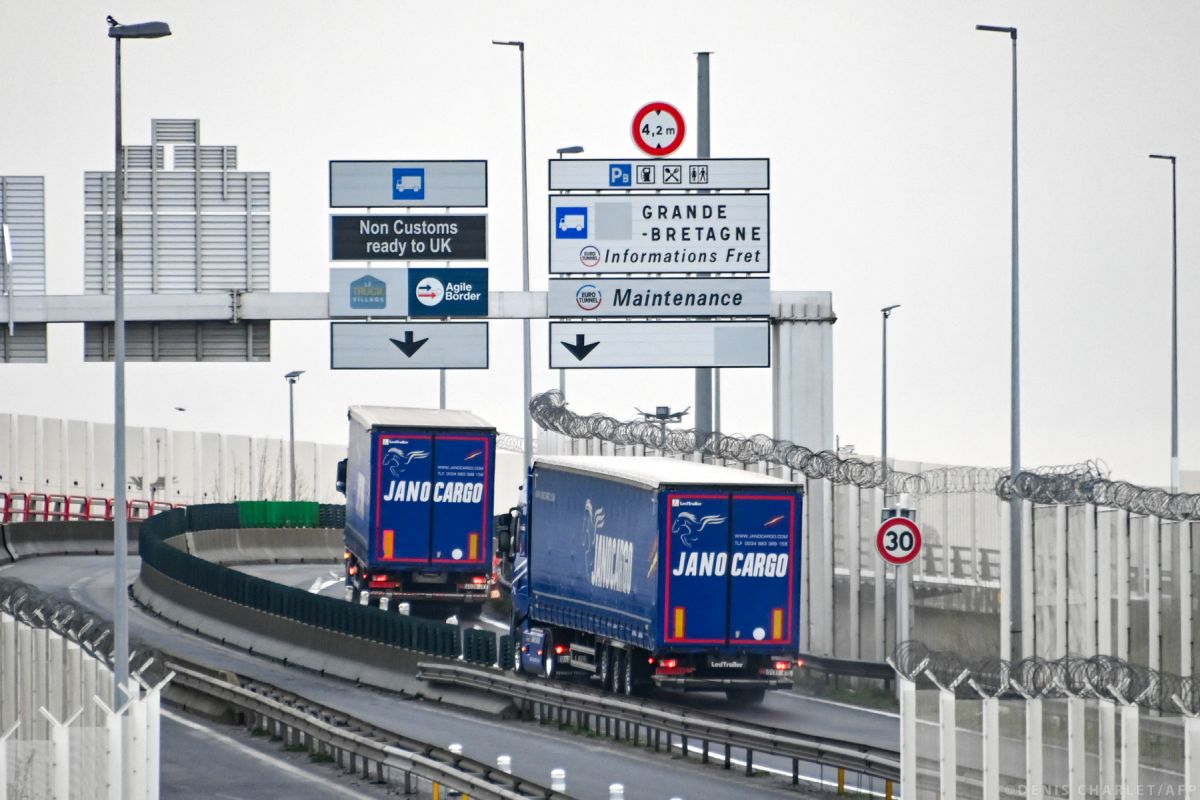 The ratification of the agreement between the EU and the UK allows for trade free of quotas and customs duties Photo source: European Parliament / © DENIS CHARLET / AFP