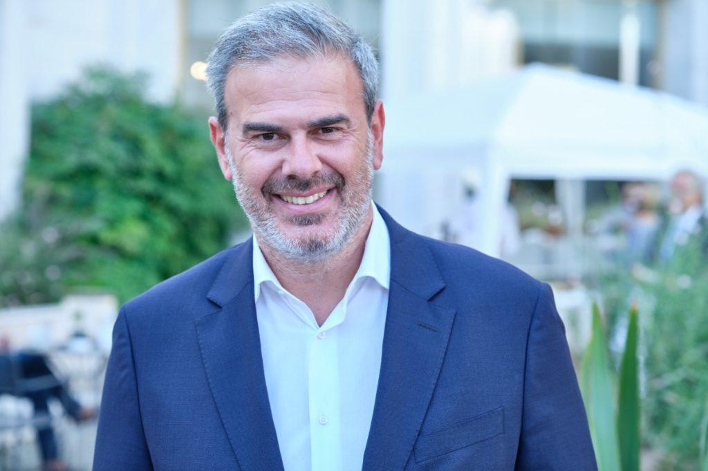 Greek National Tourism Organization (GNTO) Secretary General Dimitris Fragakis.