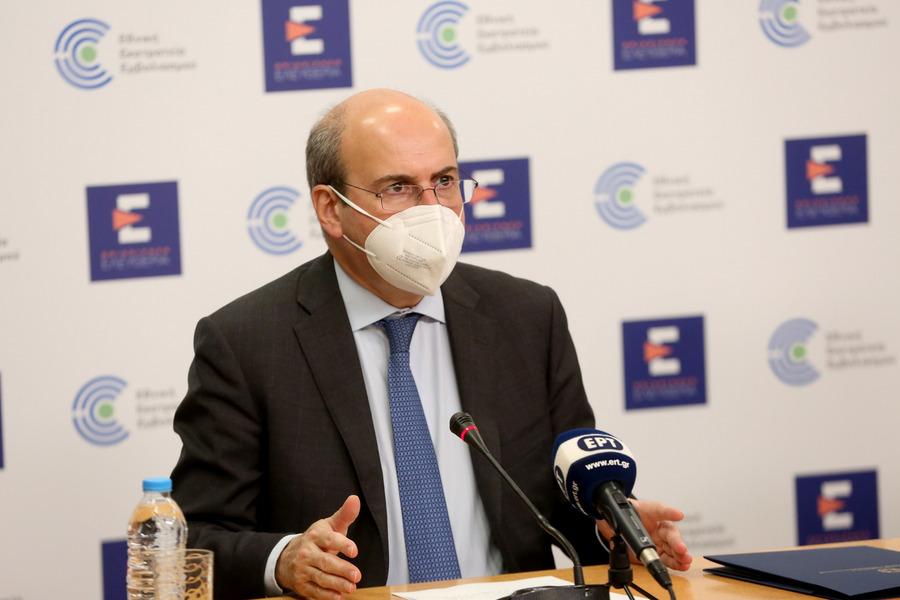 Greek Labor Minister Kostis Hatzidakis.