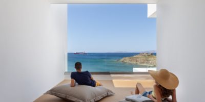 Infinity View Hotel on Tinos.