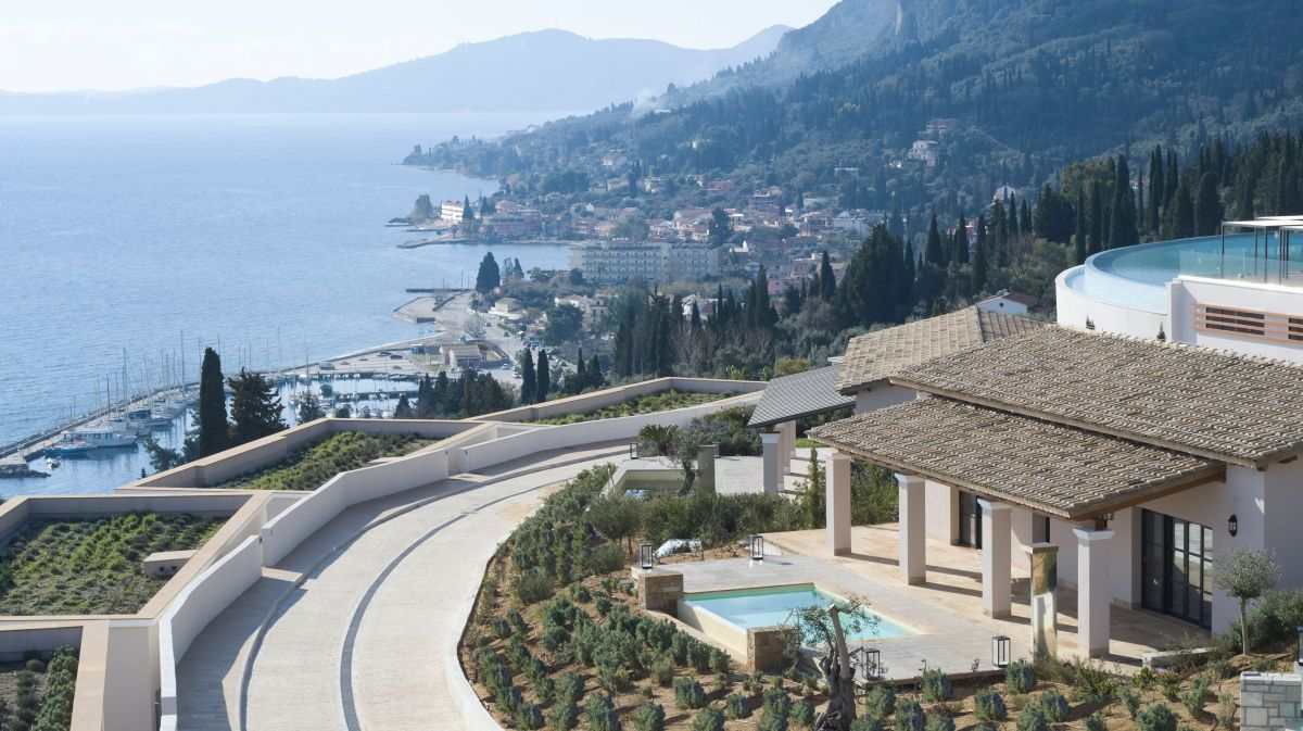 Overview of Angsana Corfu. Photo credit: Vaggelis Paterakis