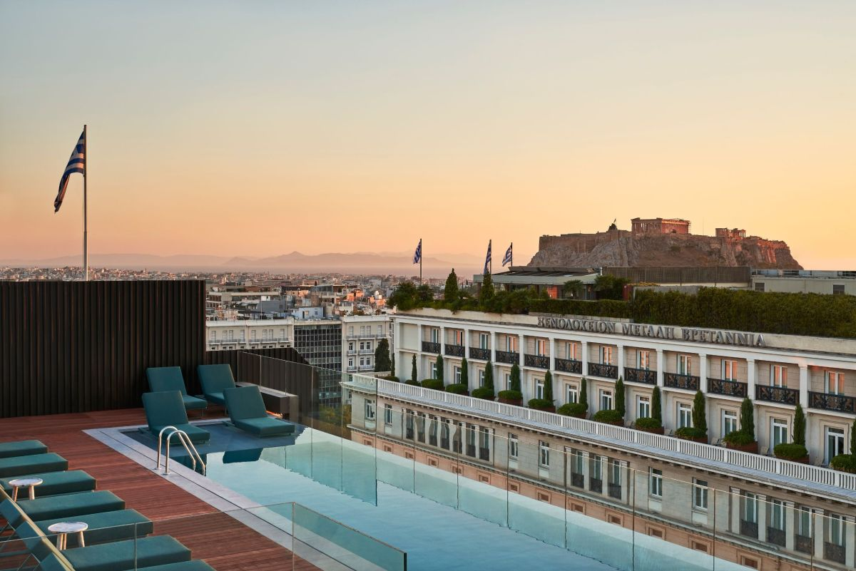 Athens Capital Hotel-MGallery Collection, Mappemonde Rooftop.