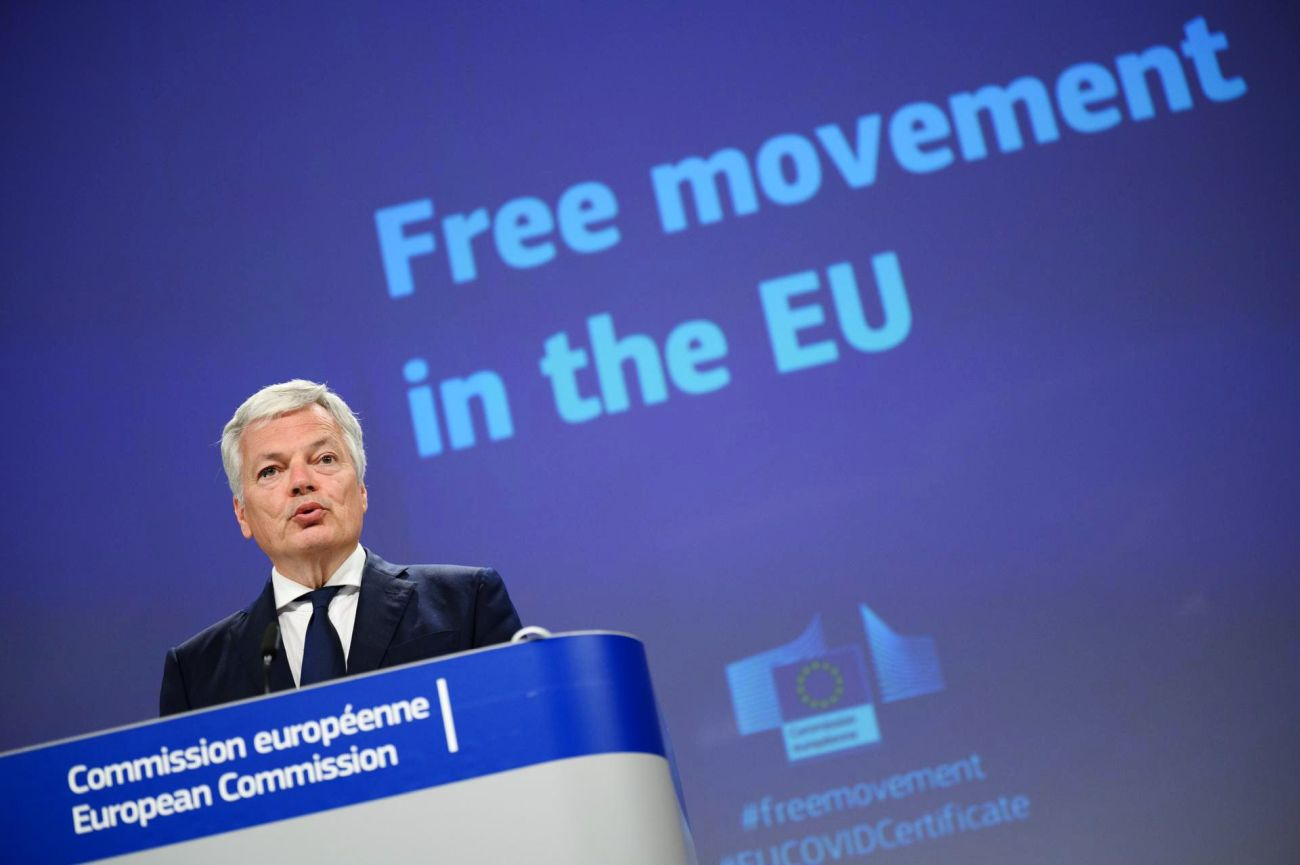 Didier Reynders, Commissioner for Justice. Photo source: @dreynders