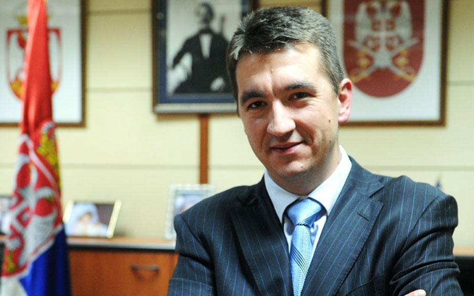 Serbian Ambassador to Athens Dusan Spasojević. Photo source: www.athens.mfa.gov.rs