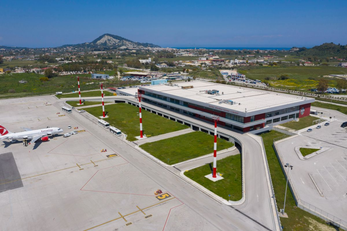 The upgraded airport on the Greek island of Zakynthos. Photo source: Fraport Greece