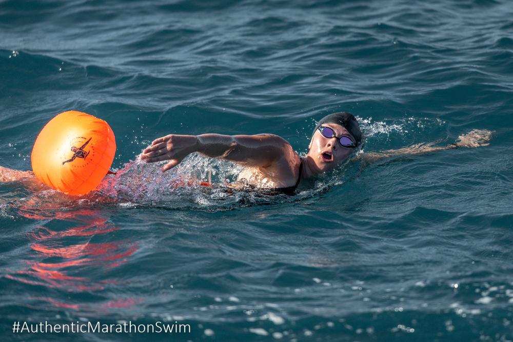 Impressive footage of the swimming races at Pefki, of the Municipality of Istiea-Edipsos (photo by Elias Lefas @ Αυθεντικός Μαραθώνιος Κολύμβησης)