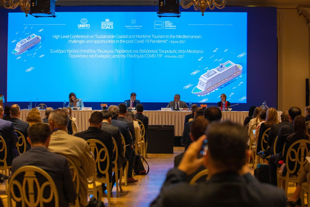 UNWTO High-Level Conference on Coastal and Maritime Tourism in Athens. Photo source: UNWTO