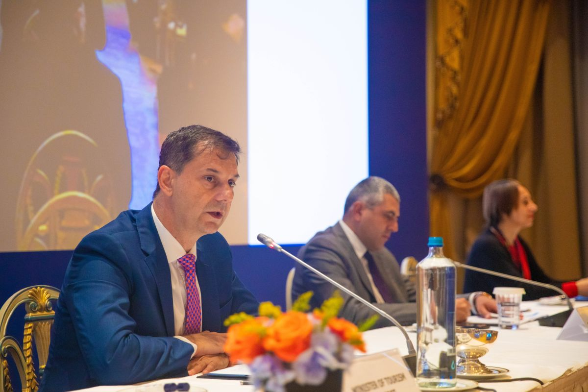 Greek Tourism Minister Harry Theoharis