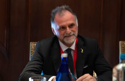 Italian Tourism Minister Massimo Garavaglia. Photo source: UNWTO