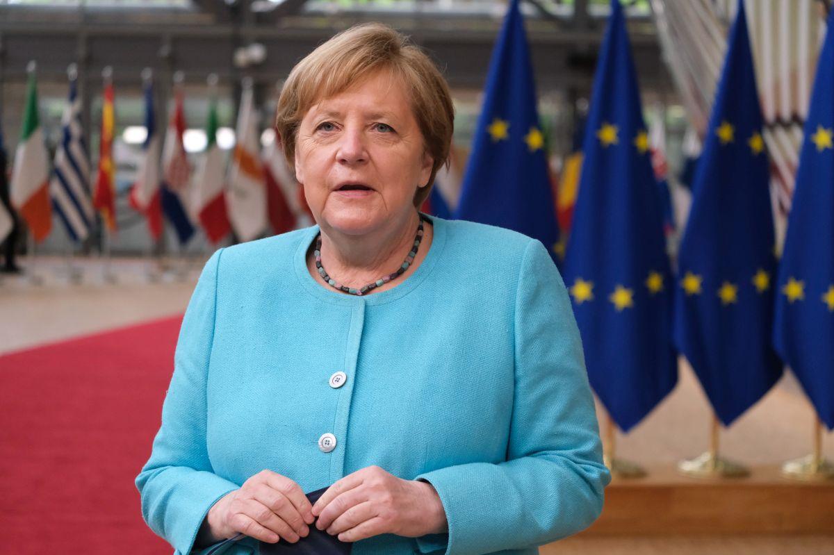 German Chancellor Angela Merkel. Photo copyright: European Union