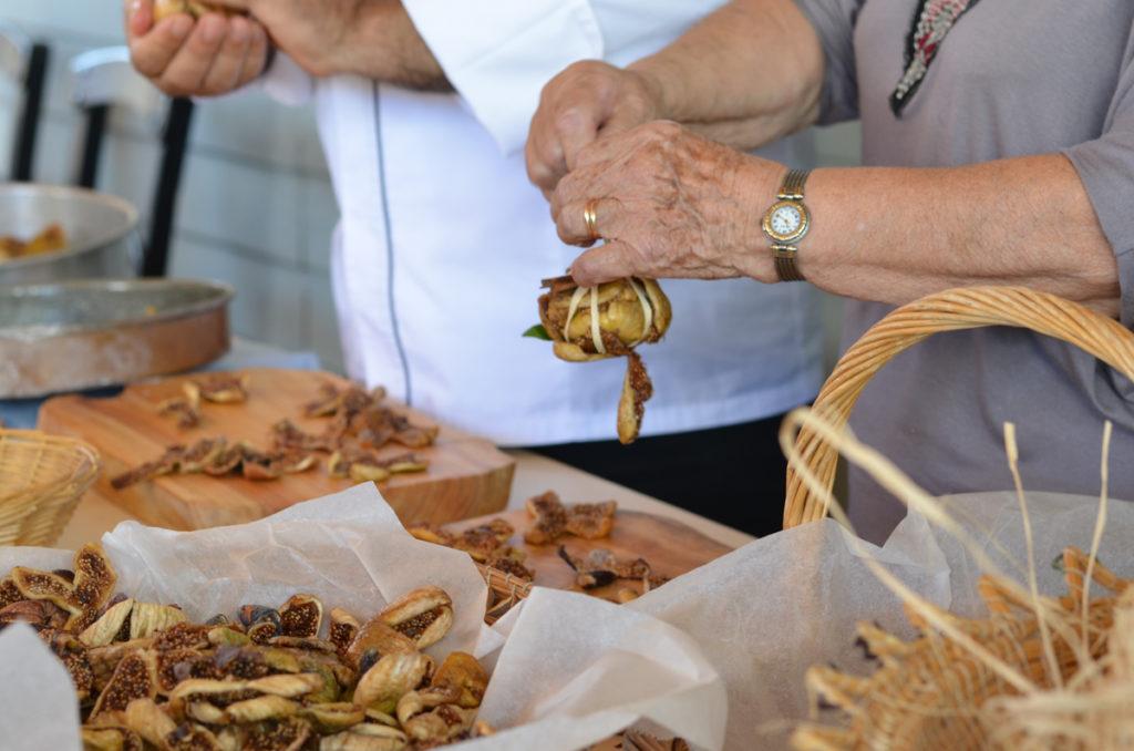 Crete local food - Metaxas