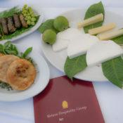 Cretan food bits (mezedes)