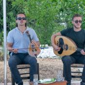 The grandchildren of legendary Cretan singer Nikos Xylouris perform traditional Cretan mantinades.