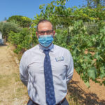 Dimitris Efthimiou, guest service manager at Metaxas Group, gives GTP Headlines a tour of Creta Maris vineyards, which have been planted by the hotel's guests.