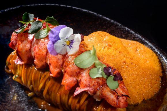 Petra Restaurant - dish by Chef Tasos Stefatos