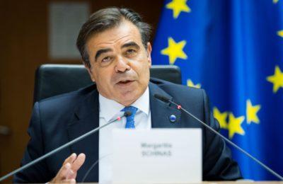 European Commission Vice President Margaritis Schinas. Photo source: @EP_Hellas