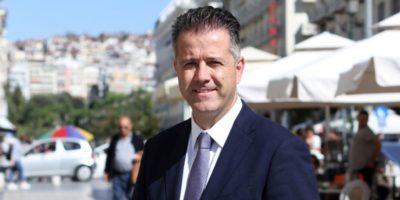 Hellenic Hoteliers Federation President Grigoris Tasios.