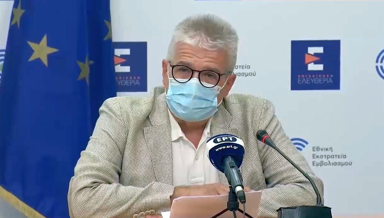 Greek infectious disease expert, Charalambos Gogos.