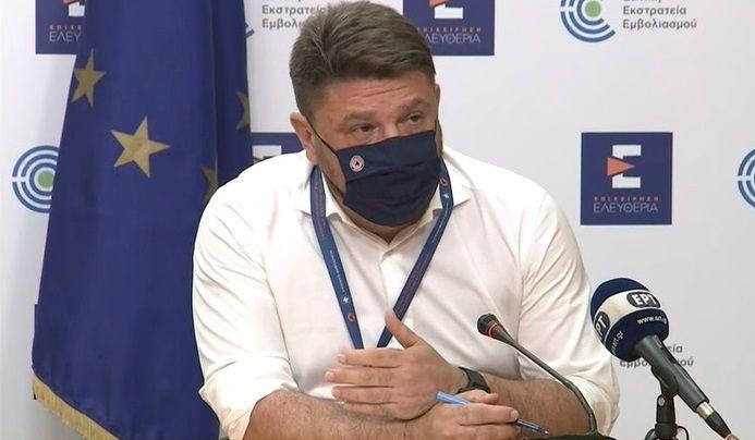 Greek Deputy Civil Protection Minister Nikos Hardalias.