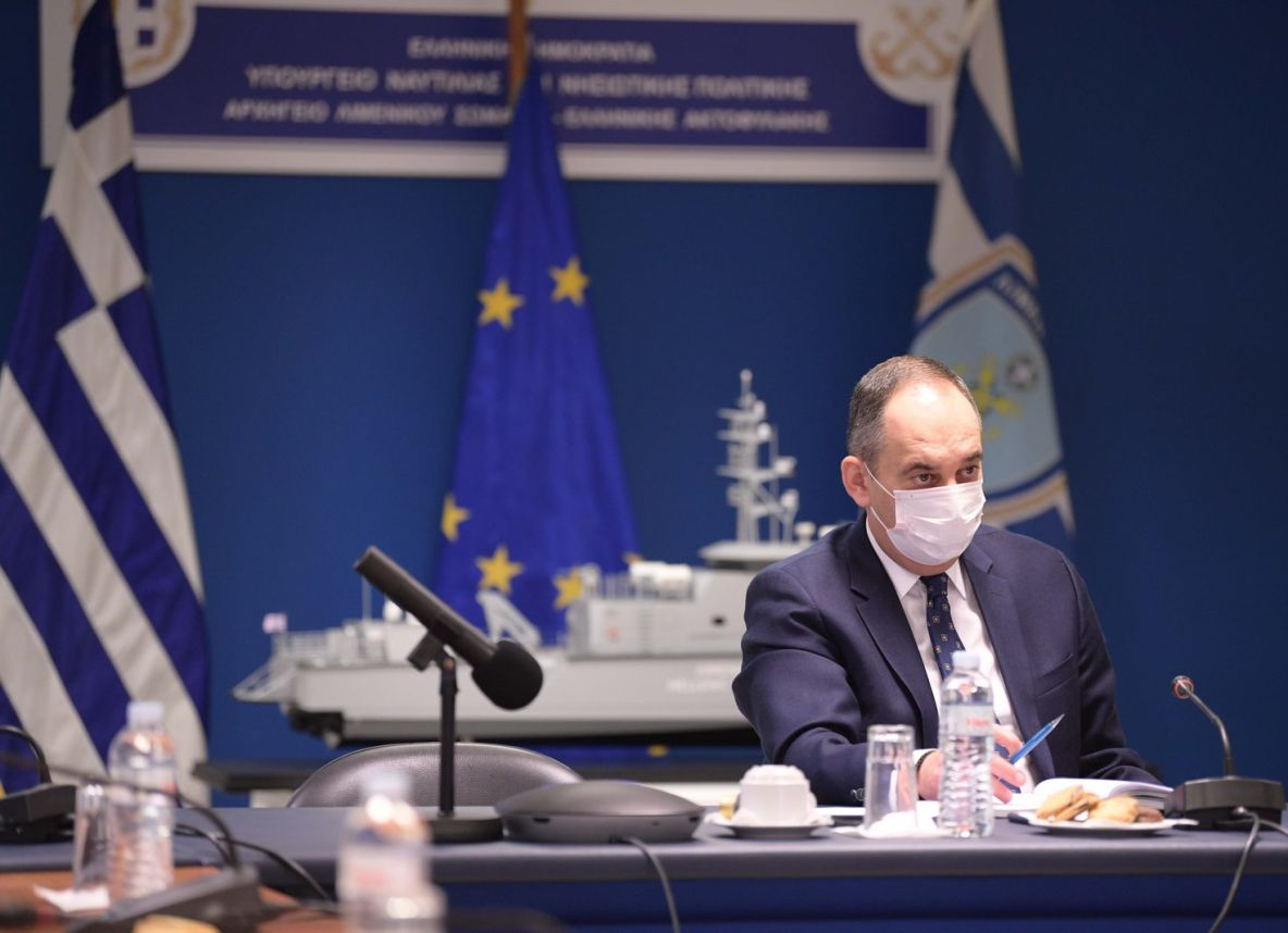 Greek Shipping Minister Yiannis Plakiotakis.