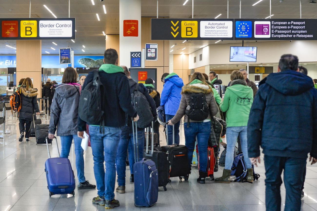 Zaventem Airport - Border control