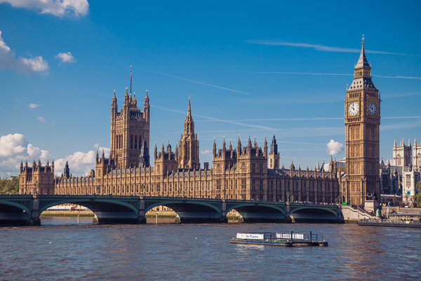 Houses of Parliament, London England. Photo source: WTTC