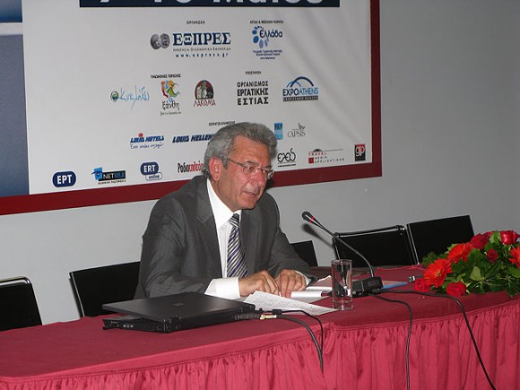 "During the press conference, prefect Dimitris Bailas was questioned if the prefect interferes with the prices of hotels and tourism services of the Cyclades. ""We do not pressure or give orders to anyone...At the end of the year those responsible will judge for themselves whether or not to adjust their actions."""