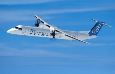 Olympic Airlines Q400 Aircraft