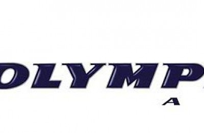 The Olympic Air logo. According to MIG, winners Yiannis Papathanasiou and Panos Triantafilopoulos received 11,652 votes out of a total of 19,116.