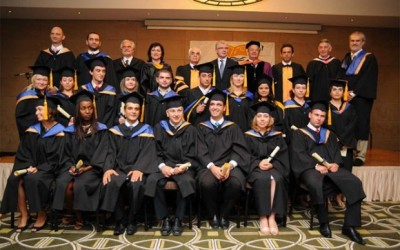 MIC graduates were awarded their degrees in a ceremony that followed a traditional academic format.