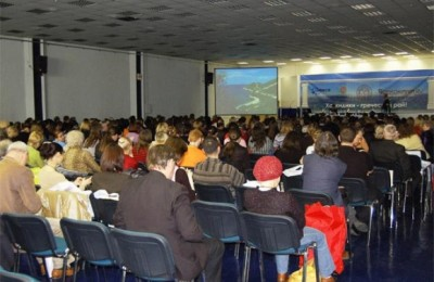 Among parallel events at MITT 2009 was the presentation of the Chalkidiki prefecture, which attracted some 420 tourism professionals, tour operators and representatives of the media. A workshop was held between Russian tour operators and members of the Chalkidiki Hotel Association where it was mentioned that one third of the Russian tourist flow to Greece prefers Chalkidiki. According to tourism professionals, Chalkidiki will possibly not see a reduction of tourists from the Russian market despite the economic crisis that has plagued the global economy. Some even spoke of a possible 10 percent increase. The presentation was held under the auspices of the Chalkidiki Prefecture and Mouzenidis Travel.