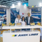 "Irina Simos, marketing director of ANEK Lines; Aliki Tsikou, representative; and Petros Vassilopoulos, commercial director of ANEK Lines, informed guests and tourism professionals on the company's special offers and itineraries mainly in the Adriatic, the Cyclades, the Northern Aegean and Crete. ANEK Lines was voted as ""Best Passenger Line Of The Year 2008"" during the annual Lloyd's List Greek shipping awards"