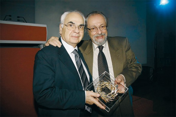 "Nikos Skoulas, president of the Minoan International College, received an award for his offer to conference tourism by HAPCO's president Dinos Astras. At the conference Mr. Skoulas gave a speech entitled ""The Three-dimensional crisis in Greek tourism-recipes for recovery."""